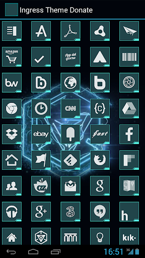 Ingress Theme Donate