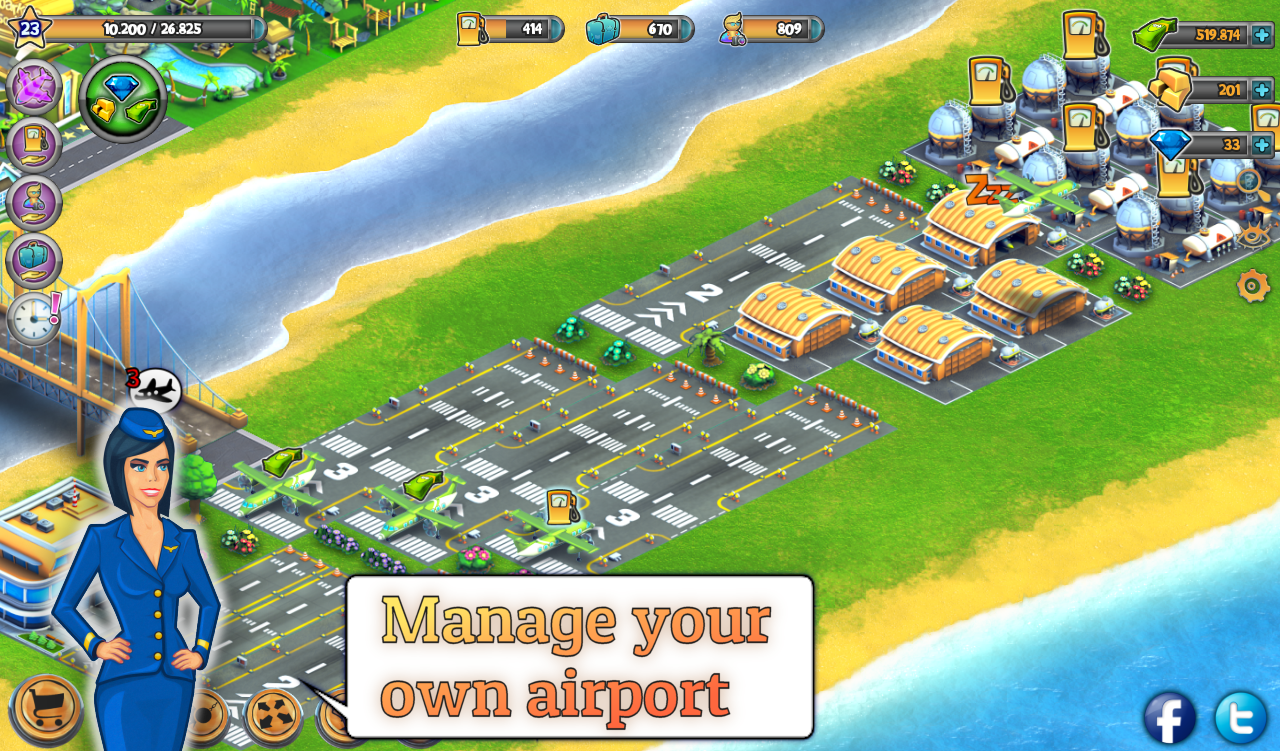 City Island: Airport ™- screenshot