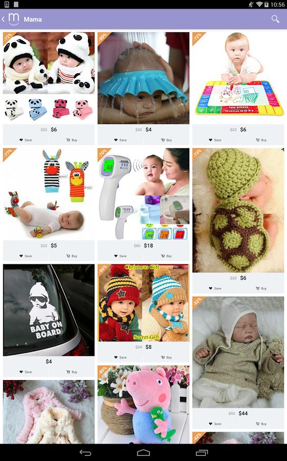 Screenshots of Mama - Thoughtful Shopping for iPhone