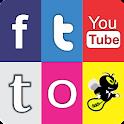 Facebook, Instagram e Twitter