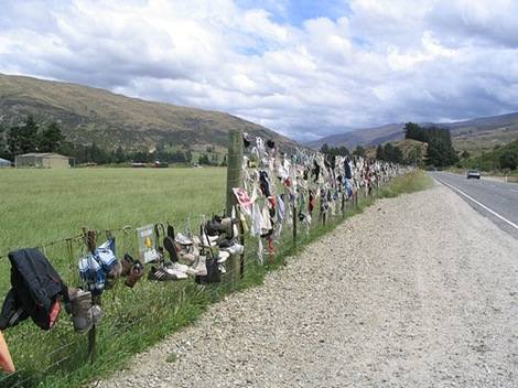 2b08d779ec The Cardrona Bra Fence of New Zealand