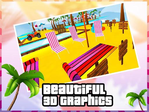 海滩救援越野车3D|玩賽車遊戲App免費|玩APPs