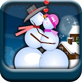 Snow Man Kissing