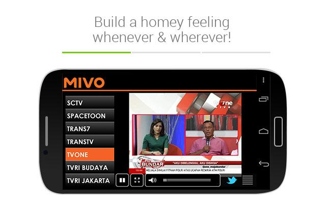 Mivo - screenshot