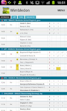 Tennis Live Scoreのおすすめ画像1