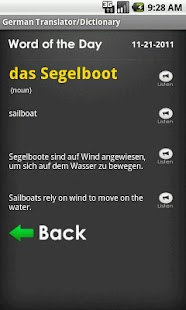 German English Translator Free- screenshot thumbnail