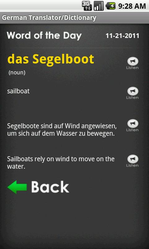 German English Translator Free- screenshot