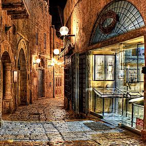 OLD JAFFA by Abu  Janjalani Abdullah - City,  Street & Park  Historic Districts ( street&park, city )