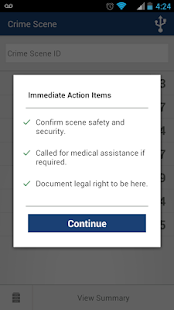 Checklist App for Scene Exam - screenshot thumbnail