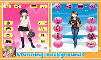 Screenshot of School Dressup - Kids Games
