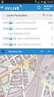 Screenshot of öV-LIVE