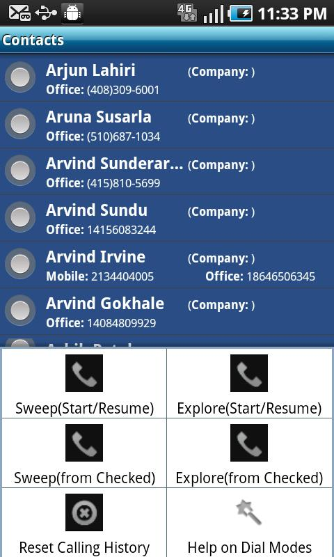 My Sales Dialer (CRM+)- screenshot