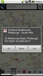 Gluten Free Restaurant Locator- screenshot thumbnail