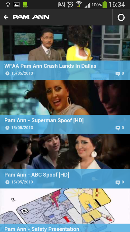 PAM ANN- screenshot