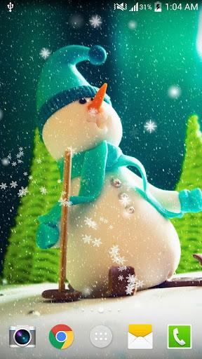 圣诞雪景免费动态壁纸免费(PRO)