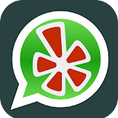 Yelp share WhatsApp Messenger