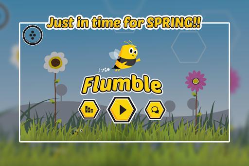 Flumble - A Tiny Flappy Bee