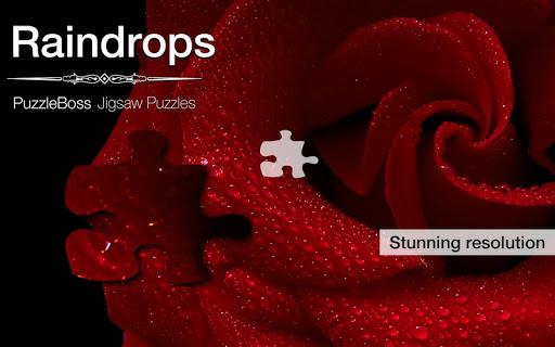 Raindrops Jigsaw Puzzles