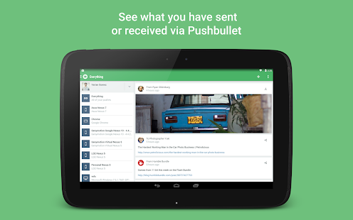 Pushbullet - SMS on PC Screenshot 18