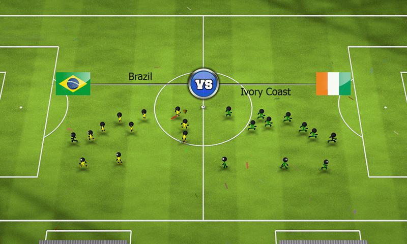 Stickman Soccer 2014 screenshot #8