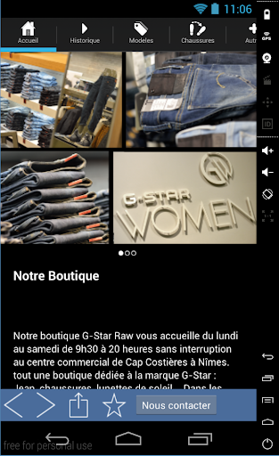 Boutique G Star Nîmes