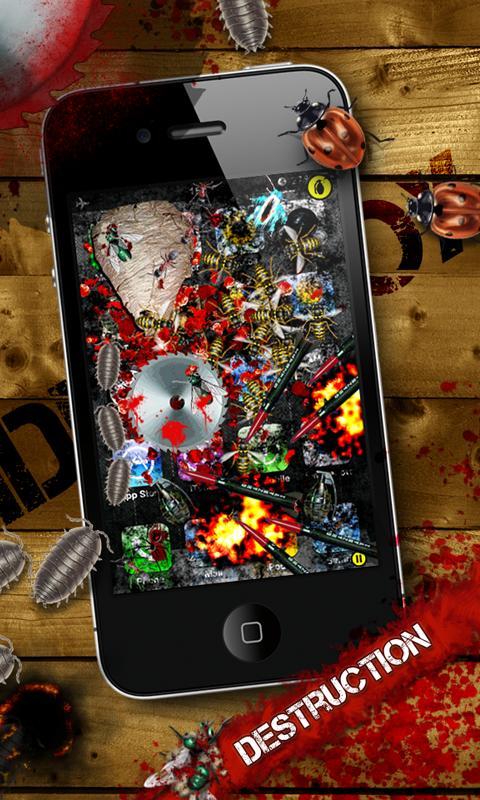 iDestroy: Infinity Bloody Bugs - screenshot