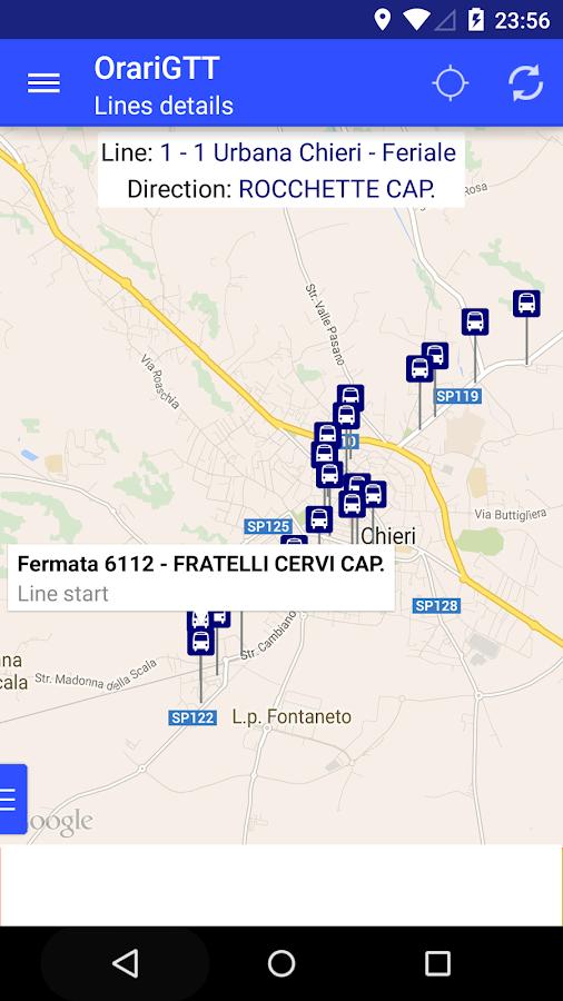 Orari GTT - Turin Transport - screenshot
