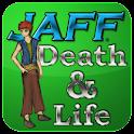 JAFF—Death & Life logo
