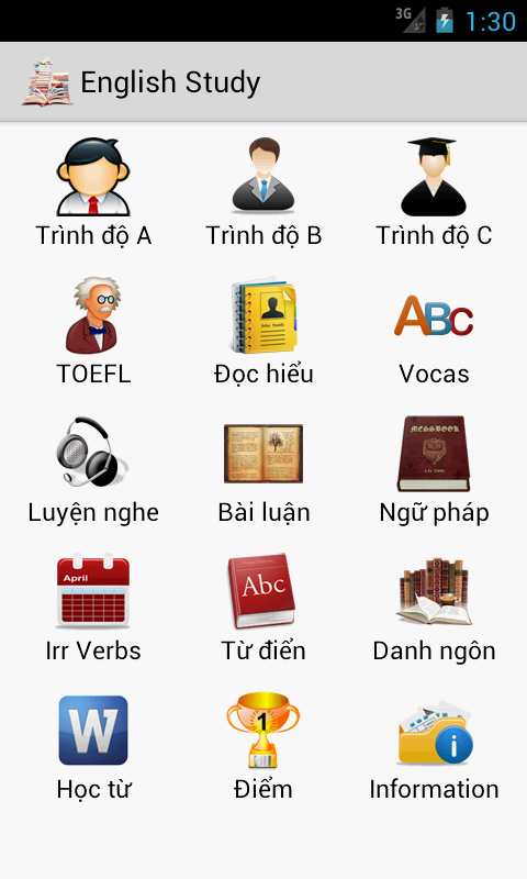 TOEFL Preparation - screenshot