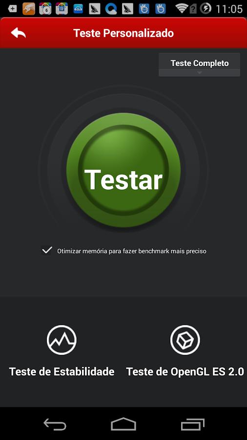 Nova versão do AnTuTu Benchmark 1