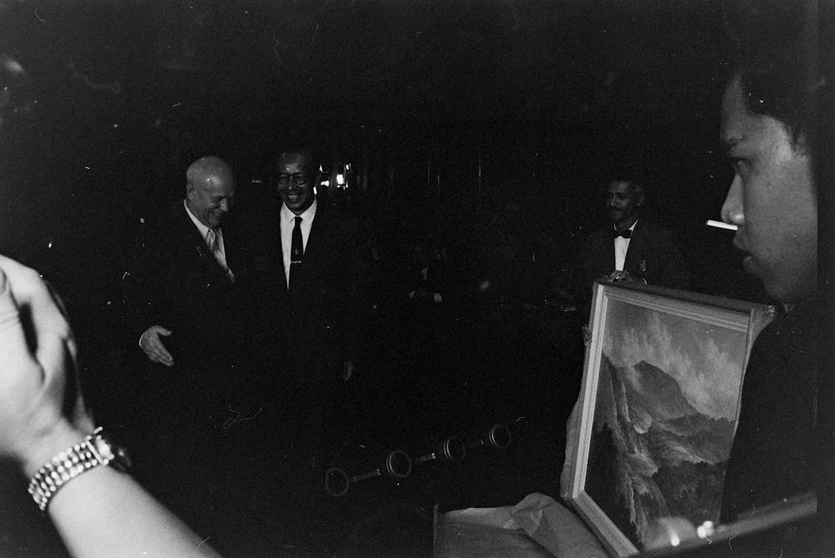Khrushchev Visit To Indonesia