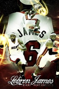 Lebron James live wallpaper HD - screenshot thumbnail