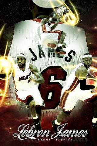 Lebron James live wallpaper HD - screenshot