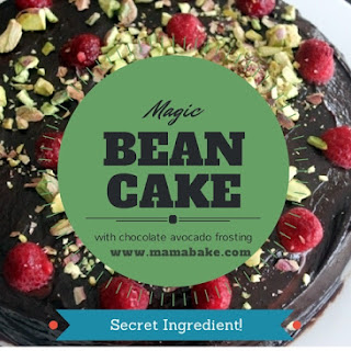 Magic Bean Cake with Chocolate Avocado Frosting! GF/DF! No Thermomix Required!
