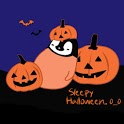 Pepe-halloween Go locker theme icon