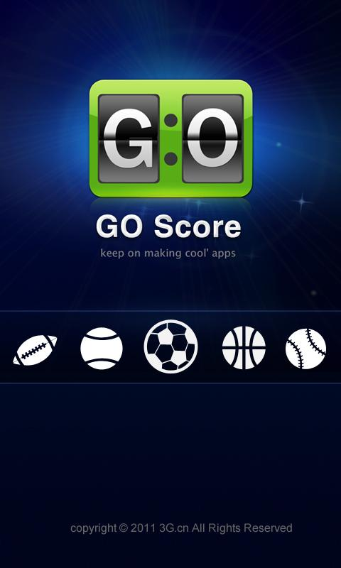 GO Score - screenshot