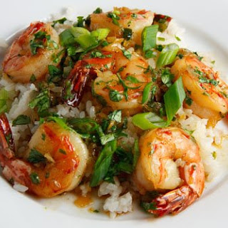 Vietnamese Caramel Shrimp (Tom Rim).
