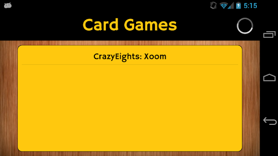Card Games- screenshot thumbnail