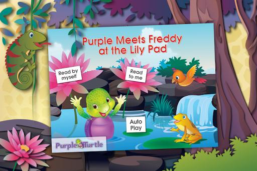 Purple Turtle: Lily Pad