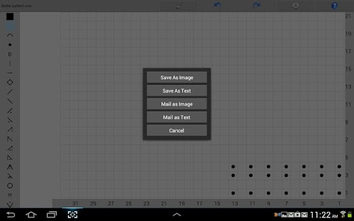 Knitting Chart Maker: miniatura de captura de pantalla
