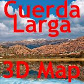 Cuerda Larga 3D Map
