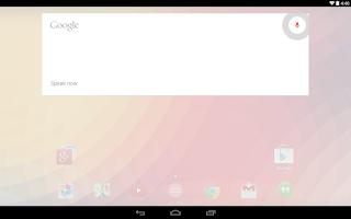 Screenshot of Google Now Launcher