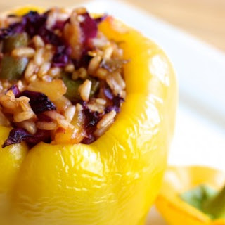 Sweet and Sour Stuffed Pepper