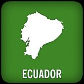 Ecuador GPS Map