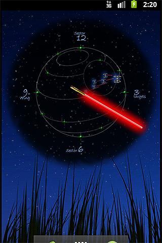 JediClock - Red- screenshot