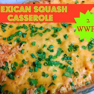 Mexican Squash Casserole