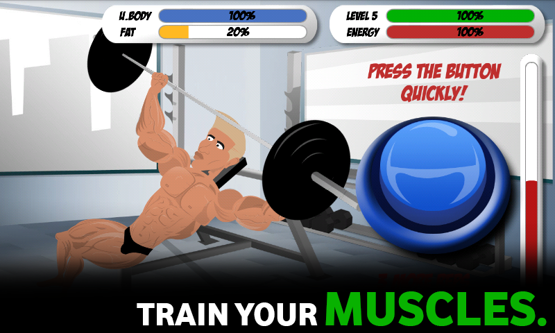 Bodybuilding and Fitness game- screenshot