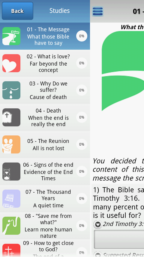 Bible Study The Way- screenshot