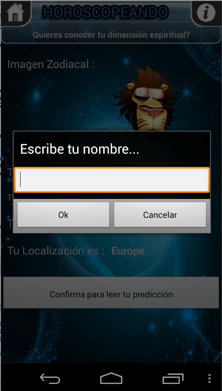 Horoscopeando el Refranero - screenshot