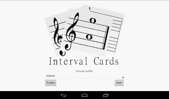 Screenshot of Interval Cards Theory - Free